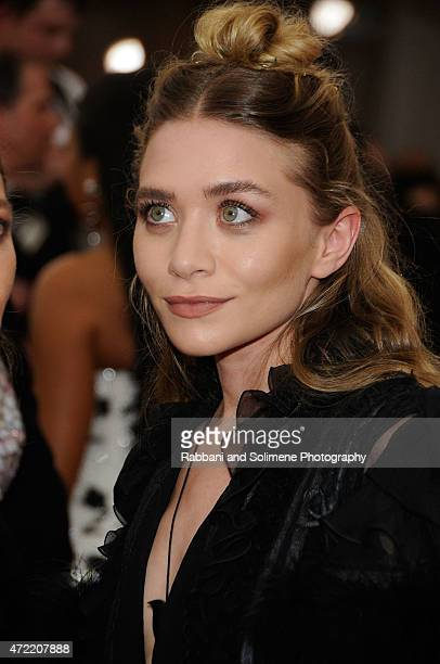 Ashley Olsen arrives at China Through The Looking Glass Costume Institute Benefit Gala at the Metropolitan Museum of Art on May 4 2015 in New York...