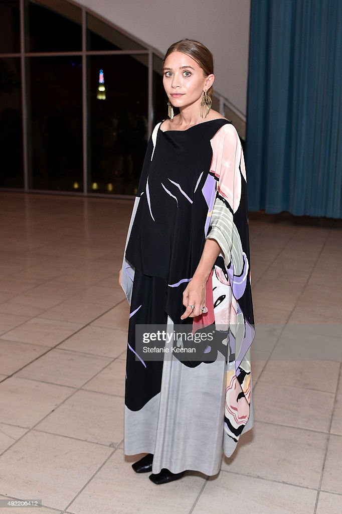 Ashley Olsen attends Hammer Museum's 'Gala in the Garden' Sponsored by Bottega Veneta at Hammer Museum on October 10, 2015 in Westwood, California.