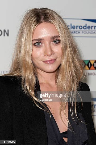 Ashley Olsen attends the 2011 Cool Comedy Hot Cuisine Gala benefiting The Scleroderma Research Foundation at Caroline's On Broadway on November 7...