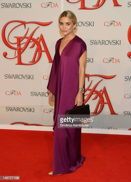 Ashley Olsen attends the 2012 CFDA Fashion Awards at Alice Tully Hall on June 4 2012 in New York City