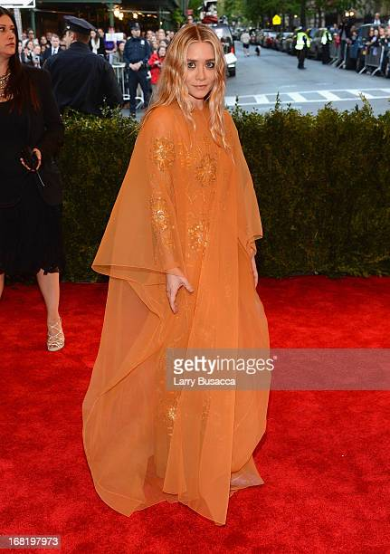 Ashley Olsen attends the Costume Institute Gala for the 'PUNK Chaos to Couture' exhibition at the Metropolitan Museum of Art on May 6 2013 in New...