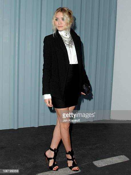 Ashley Olsen during 2007/2008 Chanel Cruise Show Presented by Karl Lagerfeld at Hangar 8 in Santa Monica California United States