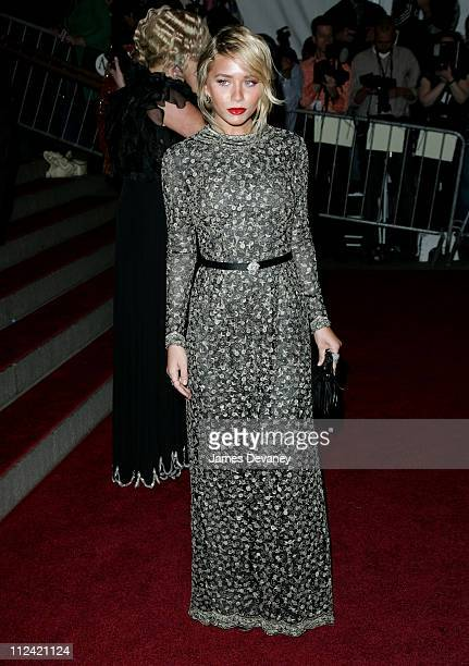 Ashley Olsen during AngloMania Costume Institute Gala at The Metropolitan Museum of Art Arrivals Celebrating AngloMania Tradition and Transgression...