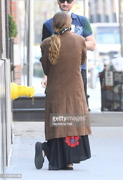 Ashley Olsen is seen in Soho on May 14 2020 in New York City