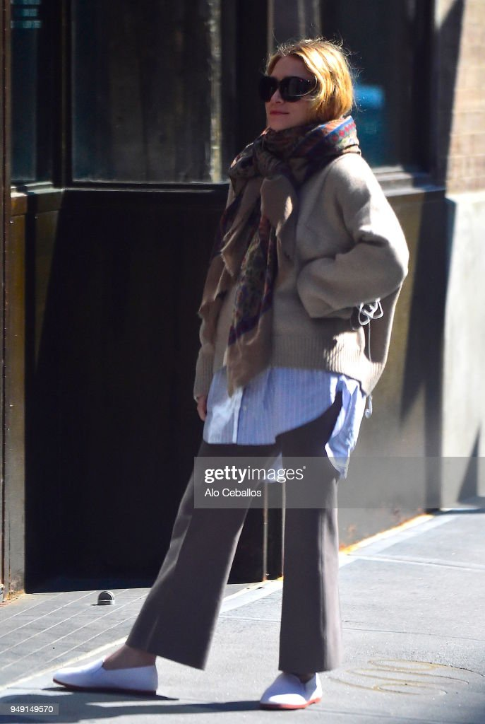 Celebrity Sightings in New York City - April 20, 2018