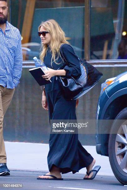 Ashley Olsen seen out and about in Manhattan on July 18 2018 in New York City