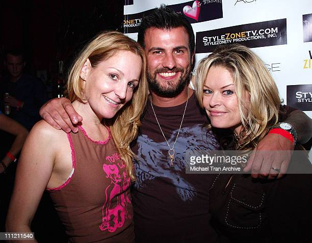 Ashley Paige, Brian Bowman and Christine Martin during Peace, Love and Bikini's After Party and Benefit for Hurricane Katrina - 23 September, 2005 at...