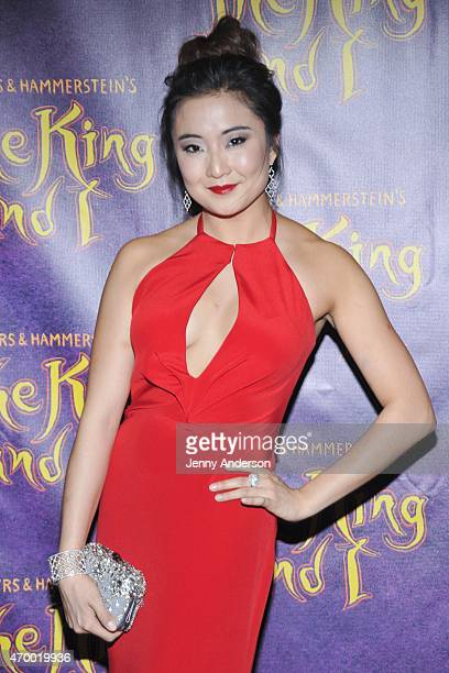 Ashley Park attends Broadway opening night of 'The King and I' at Vivian Beaumont Theatre on April 16 2015 in New York City