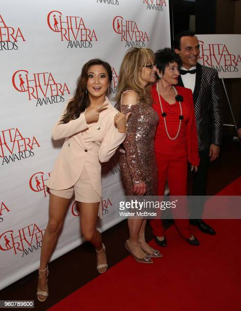 Ashley Park attends The 2018 Chita Rivera Awards at the NYU Skirball Center for the Performing Arts on May 20 2018 in New York City