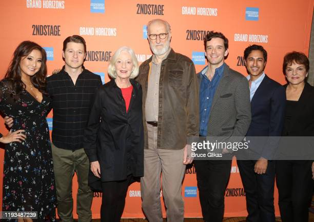 Ashley Park Ben McKenzie Jane Alexander James Cromwell Michael Urie Maulik Pancholy and Priscilla Lopez attend a meet and greet for Second Stage...