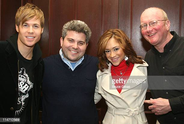 Ashley Parker Angel Adam Epstein producer Diana DeGarmo and Mark O'Donnell book writer