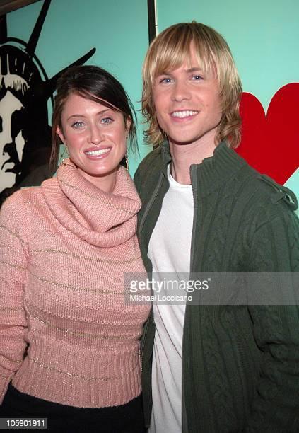 Ashley Parker Angel and Girlfriend Tiffany Lynn
