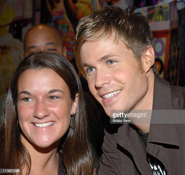 Ashley Parker Angel and guest during Jerry Mathers Joins the Cast of 'Hairspray' as Wilbur Turnblad June 8 2007 at Neil Simon Theatre in New York...