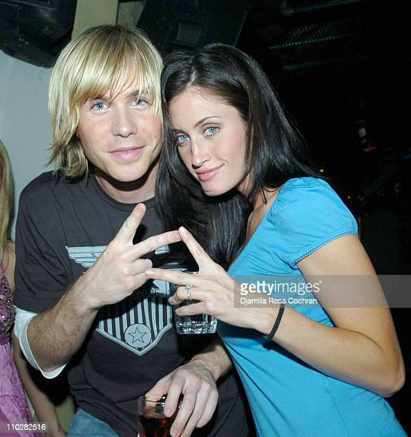 Ashley Parker Angel and Tiffany Lynn Angel during 3 Arts Entertainment Gotham Magazine and Vincent Longo Celebrate the NY Upfronts at Stereo in New...