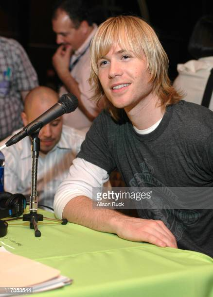 Ashley Parker Angel during Snuggle GRAMMY Media Event at the The 48th Annual GRAMMY Awards Day 1 at Staples Center in Los Angeles California United...