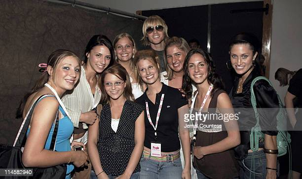 Ashley Parker Angel with Teen People Models and Tiffany