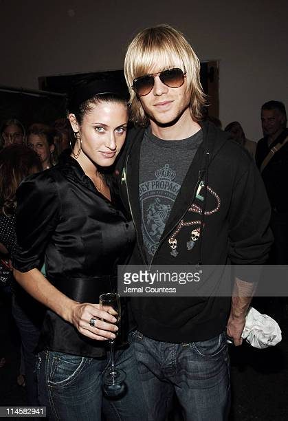 Ashley Parker Angel with Tiffany during Teen People Present Best of Fall 2006 at Industria in New York City New York United States