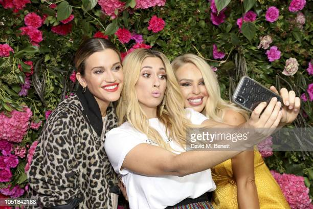 Ashley Roberts and Katie Piper attend the VIP Party with Stacey Solomon as she celebrates the launch of her new collection with Primark on October 10...