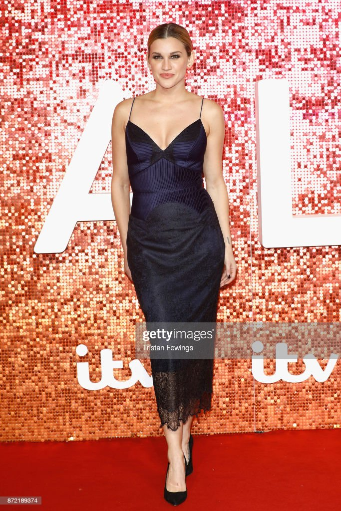 Ashley Roberts arriving at the ITV Gala held at the London Palladium on November 9, 2017 in London, England.