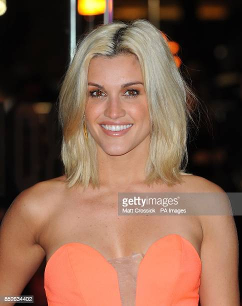 Ashley Roberts arriving for the World Premiere of The Hunger Games Catching Fire at the Odeon Leicester Square London