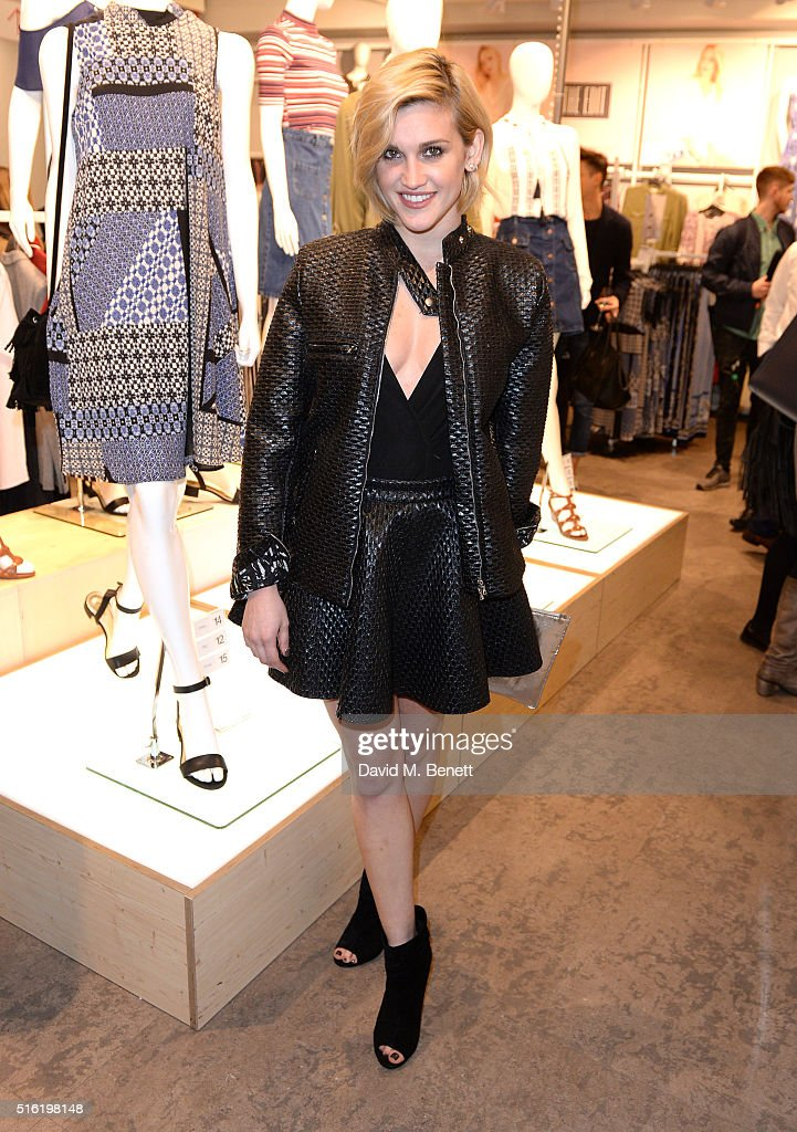 Ashley Roberts at the launch of The Edit, Matalan's new SS16 collection on March 17, 2016 in London, England.