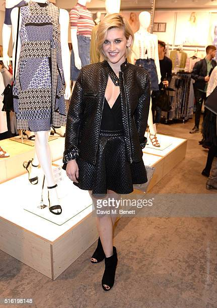 Ashley Roberts at the launch of The Edit Matalan's new SS16 collection on March 17 2016 in London England