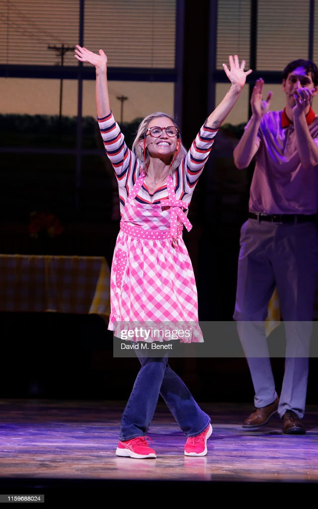 """""""Waitress: The Musical"""" - Cast Change - Curtain Call & Drinks Reception : News Photo"""