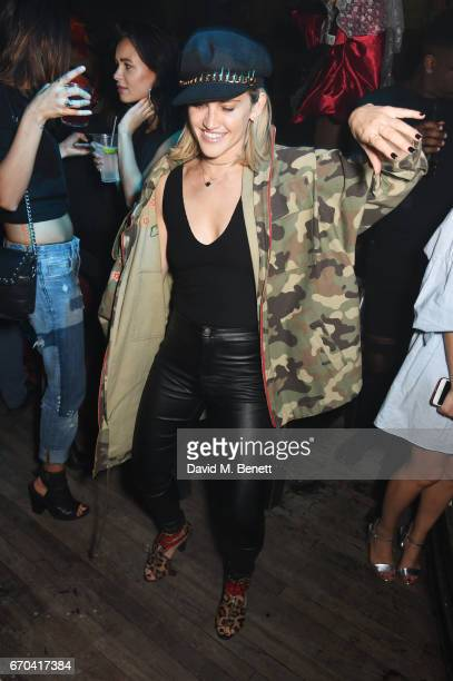Ashley Roberts attends as The Box celebrates its six year anniversary with original Box MC Raven O hosting an allstar show featuring Anderson Paak...