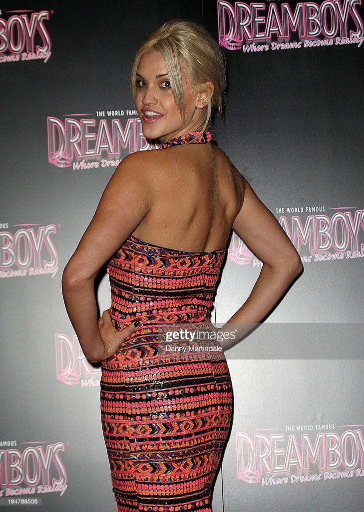 Ashley Roberts attends as the Dreamboys hold a Gala performance at Rise Supperclub on October 16, 2013 in London, England.