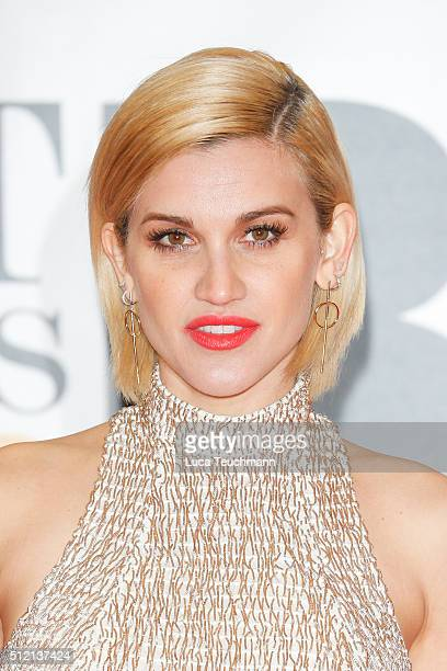Ashley Roberts attends the BRIT Awards 2016 at The O2 Arena on February 24 2016 in London England