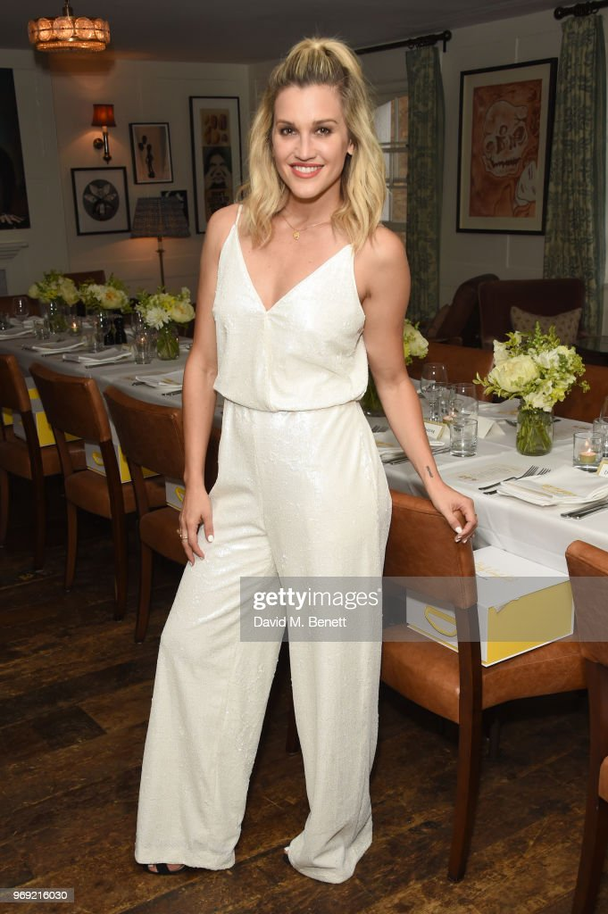Ashley Roberts attends the launch of Bumble's #BodyConfidante campaign at Soho House on June 7, 2018 in London, England.