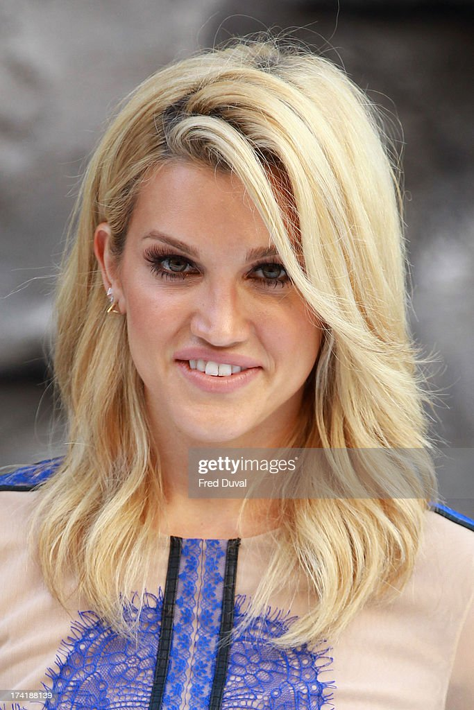 Ashley Roberts attends the premiere of 'The Lone Ranger' at Odeon Leicester Square on July 21, 2013 in London, England.