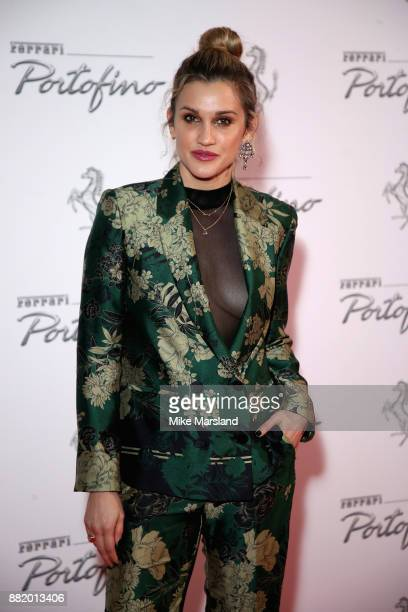 Ashley Roberts attends the UK launch event for the new Ferrari Portofino at Kensington Olympia on November 29 2017 in London England