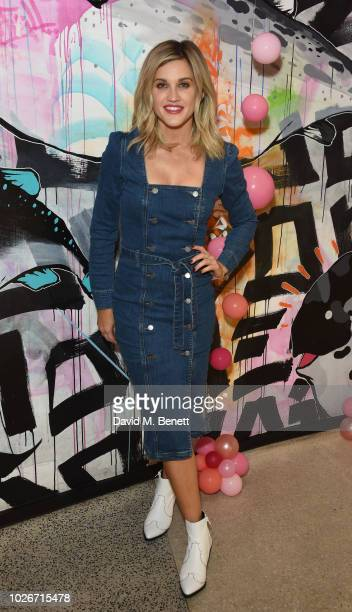 Ashley Roberts attends the Verycouk AW18 collection preview at 110 Bishopsgate on September 4 2018 in London England