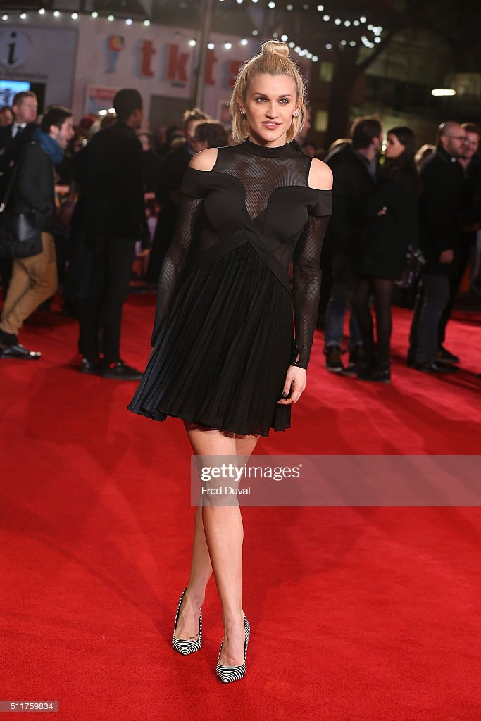 Ashley Roberts attends the word premiere of 'Grimsby' at Odeon Leicester Square on February 22, 2016 in London, England.