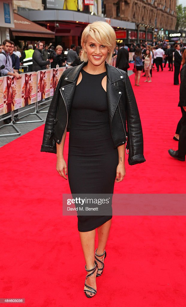 Ashley Roberts attends the World Premiere of 'The Bad Education Movie' at Vue West End on August 20, 2015 in London, England.