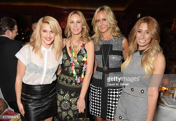 Ashley Roberts, Dee Ocleppo, Lady Victoria Hervey and Stacey Solomon attend the Walkabout Foundation Event hosted by Dee Ocleppo And Tommy Hilfiger...