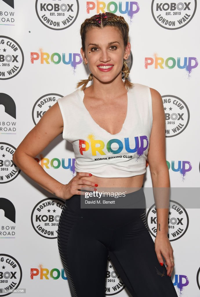 Ashley Roberts & Doug Fordyce Co-Host Charity KOBOX Class In Aid Of Rainbow Railroad : News Photo