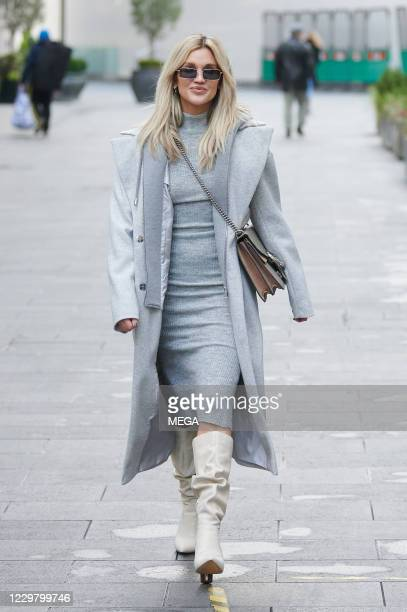 Ashley Roberts pictured leaving Global Radio on November 26, 2020 in London, England.