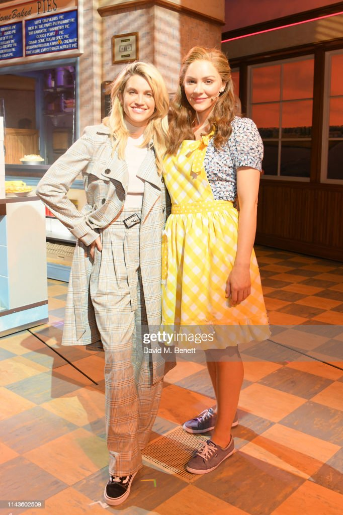"GBR: Ashley Roberts Visits The West End Production Of ""Waitress: The Musical"""
