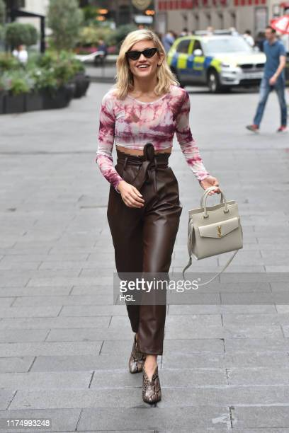 Ashley Roberts seen at Global Radio on September 16 2019 in London England