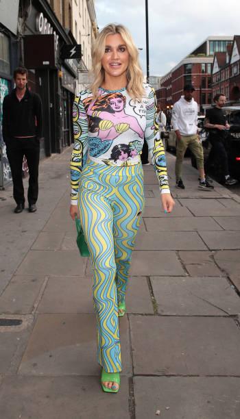 GBR: London Celebrity Sightings - August 3, 2021