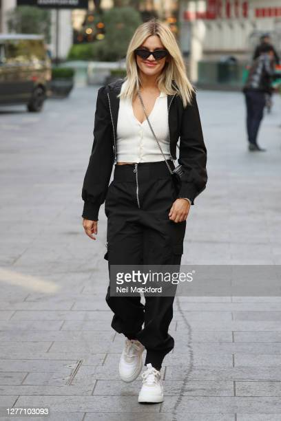 Ashley Roberts seen leaving Heart Breakfast Radio Studios on September 28 2020 in London England