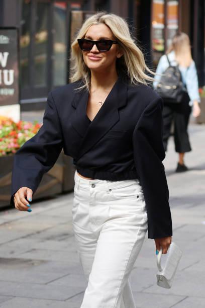 GBR: London Celebrity Sightings - August 2, 2021