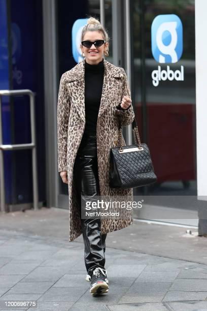 Ashley Roberts seen leaving Heart Breakfast radio studios on January 20 2020 in London England