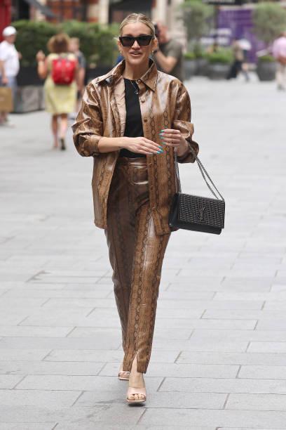 GBR: London Celebrity Sightings - July 27, 2021