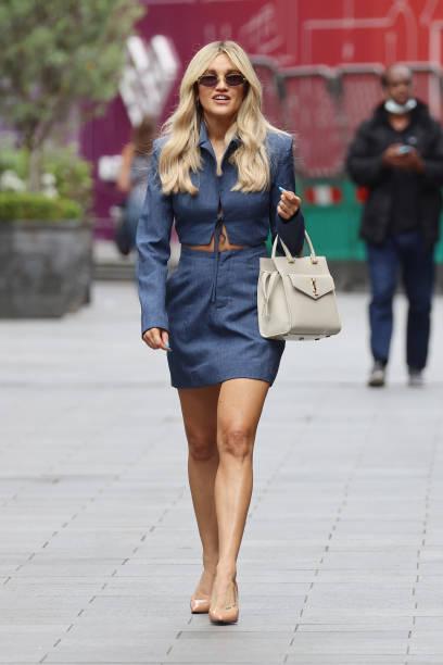 GBR: London Celebrity Sightings - July 28, 2021