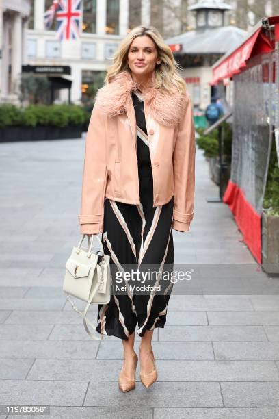 Ashley Roberts seen leaving Heart Radio Studios on January 06 2020 in London England
