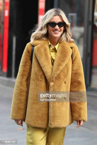 Ashley Roberts seen leaving Heart Radio Studios on November 06 2019 in London England
