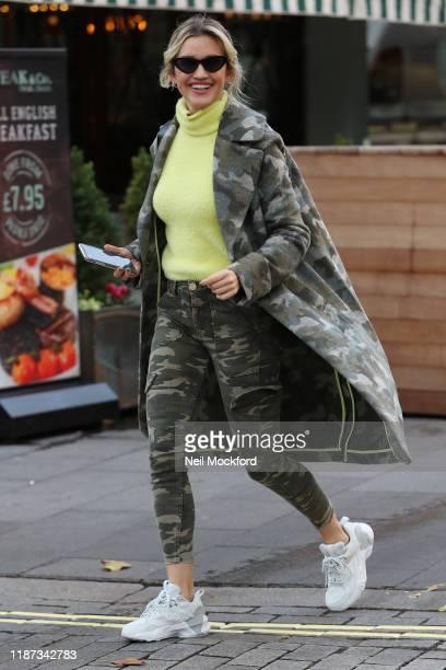 Ashley Roberts seen leaving Heart Radio Studios on November 13 2019 in London England